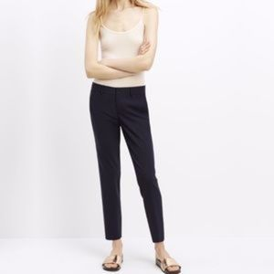 Vince Strapping Stretch Wool Trousers Black Size 8